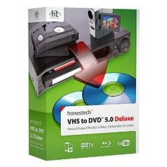 Honestech VHS to DVD 5.0 Deluxe, (vhs to dvd transfer, vhs to dvd, honestech, analog to digital, convert, digital video, camcorder, dvd, dvd viewing, photography)