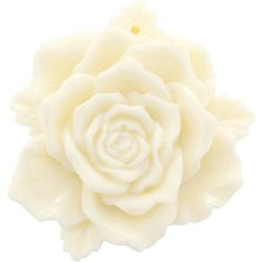 Amazon.com: White 3D Camellia Flower Pin Brooch Flower Pendant and Hair clips: Fantasyard: Jewelry