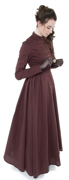 Not your typical fashionista dress and I love it regardless, makes me think of Little House on the Prairie.