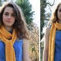 Free Rowan Sunshine Scarf Pattern - LoveKnitting Blog