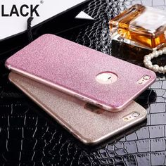 i6 6S UltraThin Glitter Bling Back Skin Cover for iPhone Crystal Soft Gel TPU Case for iPhone 6 6s 6Plus 6splus Phone Cases