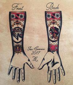 Traditional Flash by Iain Cummins Cuff Tattoo, 1 Tattoo, Arm Band Tattoo, Tattoo Flash, Traditional Tattoo Prints, Traditional Tattoo Old School, Full Body Tattoo, Body Art Tattoos, Sleeve Tattoos