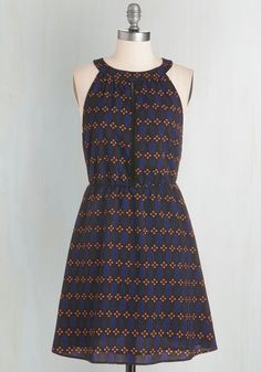 Bliss is How We Do It Dress. Emphasize your peppy energy with this lively, printed dress! #multi #modcloth