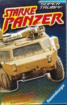 RZOnlinehandel - Starke Panzer - Super Trumpf Quartett Panzer, Stark, Super, Nerf, Monster Trucks
