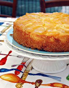 torta rovesciata di pesche