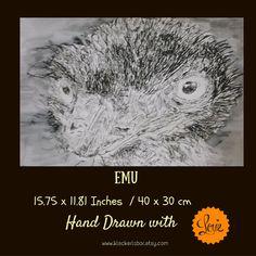 Love Emu  by Surabhi on Etsy