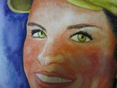 Retratos en acuarela FERNANDINI- (30cmx22cm)- PRECIO:300 Dólares | Venta de Pinturas al óleo y acuarela de Patty Fernandini