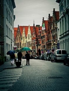 Brugges, I love the place, I'd like to take my maids there just me and them before i get married in 2012.
