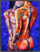 Antoni Adamski. Komposition med modeller