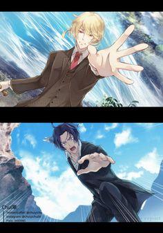 Sherlock Kiss, Sherlock Anime, Sherlock Moriarty, James Moriarty, Kawaii Chibi, Kawaii Anime, Anime Films, Anime Characters, Anime Guys