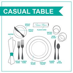 How to Set A Formal Table From Aki-Home