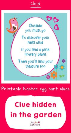 Looking for inspiration for Easter egg hunt clues? We've got some great ones that will take your kids on an exciting trail to find the ultmate prize of . Easter Egg Hunt Clues, Easter Eggs, Discover Yourself, Finding Yourself, Happy Easter, Free Printables, Board, Inspiration, Ideas