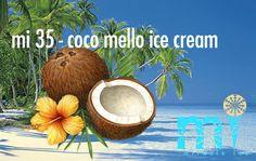 "mi 35 - ""coco mello ice cream""       .   .    2-3 minuten vers gemaakt I verse kokosmelk I kokos rasp Rasp, Cocktails, Ice Cream, Painting, Craft Cocktails, No Churn Ice Cream, Icecream Craft, Painting Art, Cocktail"