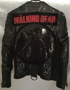 The Walking Dead Rocker jacket from ChadCherryClothing.