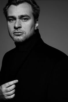christopher Nolan - British–American film director, screenwriter and producer. Photo by John Swannell, 2008 Chris Nolan, Christopher Nolan, Indie Movies, Comedy Movies, Best Movie Quotes, Film Quotes, Nolan Film, Fritz Lang, Foreign Movies