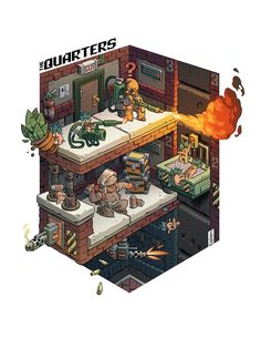 The Quarters by Stéphane Boutin