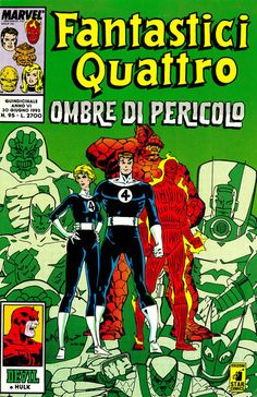 Cover for Fantastici Quattro (Edizioni Star Comics, 1988 series) #95