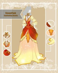 CLOSED Adoptable Outfit Auction: Steampunk Beauty by Hassly.deviantart.com on @DeviantArt