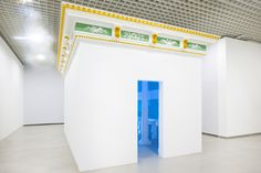 Pablo Bronstein, Temple of Convenience  2011  wood and plasterboard structure, plastic ornaments  350 x 600 x 350 cm / 137.7 x 236.2 x 137.7 in