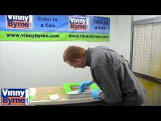 How to Paint PVC, uPVC & Aluminium Windows and doors - YouTube