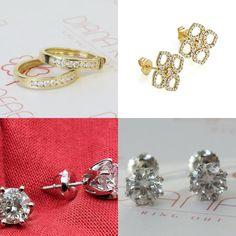 #jewelry #earrings #hoopearrings #leverback #pushback #diamondearrings #goldearrings #giftforher #anniversarygift #weddingjewelry #goldjewelry #diamondjewelry #sale #leverbackclosure #cliponearrings #genuinediamond