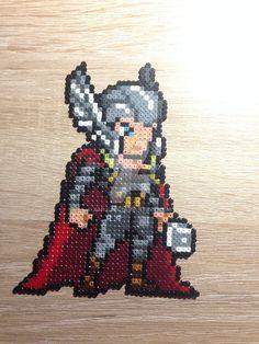 Thor perler beads by XArjunX