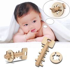 Bamboo Toy Key //Price: $4.99 & FREE Shipping //     #woodenaccessories
