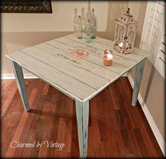 Shabby Coastal Cottage Table