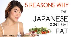 Did you know that the Japanese have the longest life expectancy in the world? It's no coincidence that with good health, an ideal weight is also easily achieved. So what do the Japanese do to stay healthy and slim?