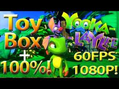 First Looks at Playtonic's Yooka-Laylee Toy Box!