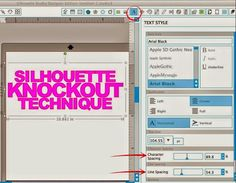 Silhouette School: Silhouette Knockout Technique Tutorial (Part 1: Designing)