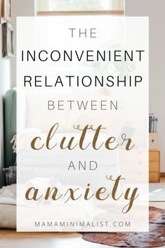 Messy homes leave us feeling overwhelmed: Indeed, research links clutter and anxiety. Inside: 10 strategies for managing both the clutter and the stress. Getting Rid Of Clutter, Getting Organized, Clutter Organization, Organizing Ideas, Sources Of Stress, Clutter Solutions, Messy House, Clutter Control, Feeling Helpless