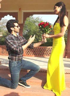 Aditya Roy Kapur and Katrina Kaif during #Fitoor promotions on International…