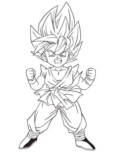 Dragon Ball Z Imagenes para Colorear  Dragon ball Dragons and Goku