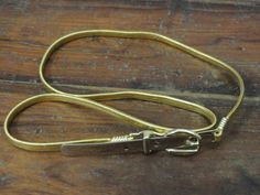 Fun vintage gold belt by KeysFinds on Etsy, $7.50