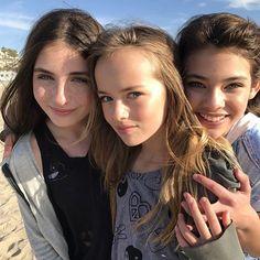 Kristina Pimenova, Lilly Kruk, and Laneya Grace