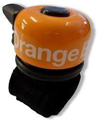 Fietsbel orange
