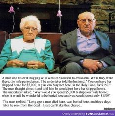 Old people are awesome...