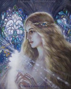 Фииндуилаc    Princess of Nargothrond by EKukanova