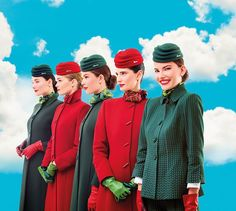 Alitalia - cabin crew uniform