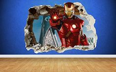 Walltastic The Avengers Age of Ultron Wallpaper Mural - Visit to grab an amazing super hero shirt now on sale!
