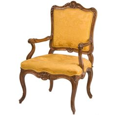 Italian Rococo Open Armchair | From a unique collection of antique and modern armchairs at http://www.1stdibs.com/furniture/seating/armchairs/