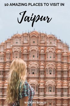 There's no better place to start a trip in Rajasthan, India than Jaipur! It has so many incredible places to visit, so here's our guide to the best ones you should go to on your trip to the pink city. India Travel Guide, Japan Travel Tips, China Travel, Hampi, Goa, Mumbai, Big Ben, Taj Mahal, Vacation Trips