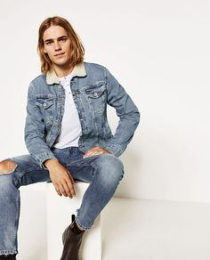 Ton Heukels Poses for Zara Men The Weekender Lookbook