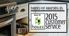 We were awarded a Best Of Houzz 2015 badge for customer service! Thank you to all of our clients and colleagues who made this possible.       VillageHomeStores.com