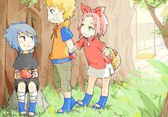 Naruto, Sasuke, Sakura | Team 7