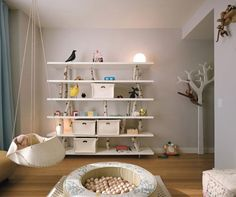 7 Charming White Suspended Cradles To Make Your Baby Happy | Kidsomania