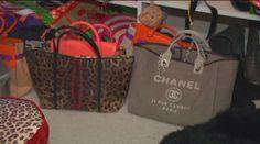Over $75,000 in Designer handbags stolen