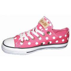Converse Chucks Ox Canvas Polka Dot Pink