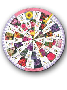 The Annual Garden Wheel will help you plan new flower combinations in your gardens. via Womanswork